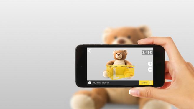 DHL Packset App©Deutsche Post