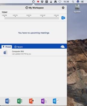 My Workspace (Mac)