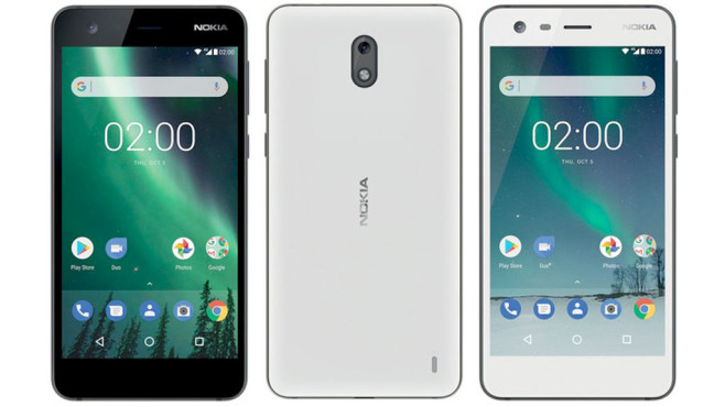 Nokia 2: Render © Nokia / HMD Global / phonearena.com