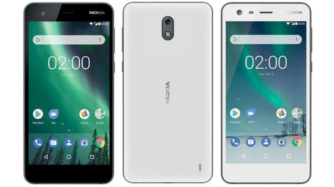 Nokia 2: Render ©Nokia / HMD Global / phonearena.com