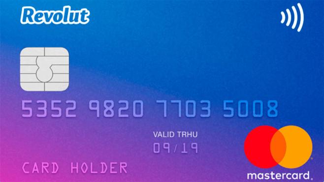 Masterkarte von Revolut ©Revolut