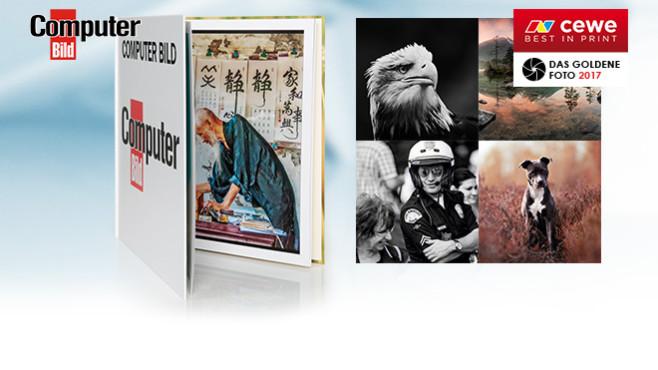 Beendet: 64 Premium-Fotobücher zu gewinnen! ©COMPUTER BILD