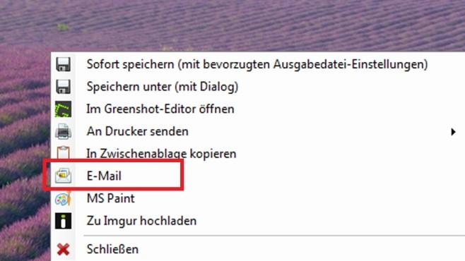 E-Mail-Versand und Paint-Weiterbearbeitung (1) ©COMPUTER BILD