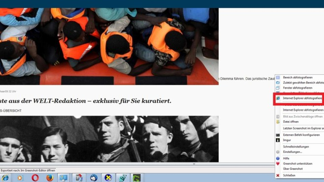 Spezialisierte Screenshot-Modi (3) ©COMPUTER BILD