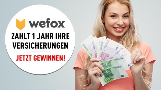 Bis 31. Oktober teilnehmen: Wefox zahlt 1 Jahr lang Ihre Versicherungen!©Syda Productions - Fotolia.de, Wefox