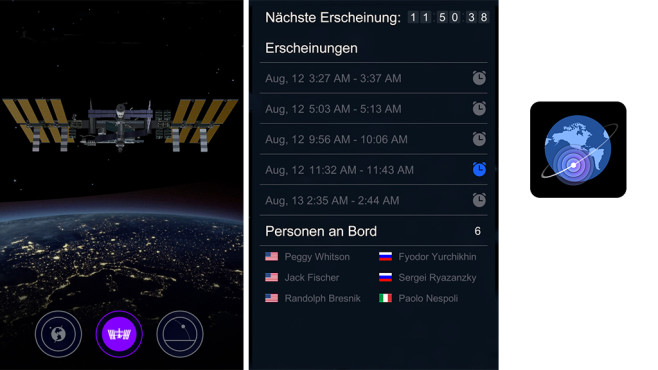 Satellite Tracker by Star Walk ©Vito Technology Inc.