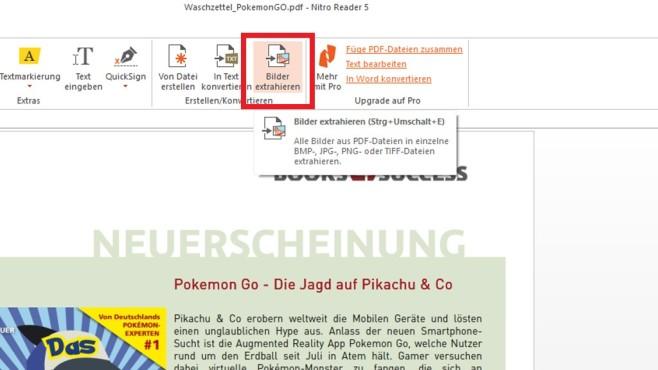 Bilder aus PDFs fischen (1) ©COMPUTER BILD