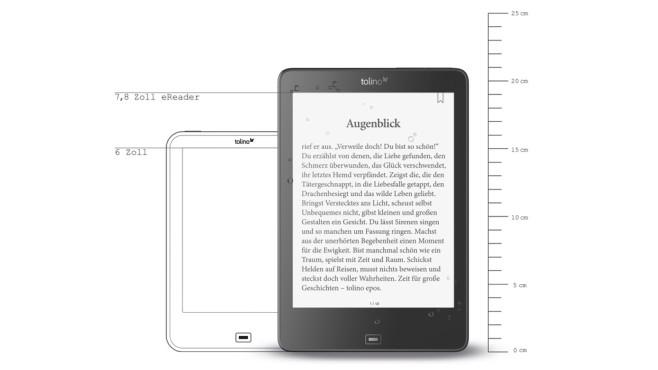 eBook-Reader Tolino Epos ©Tolino