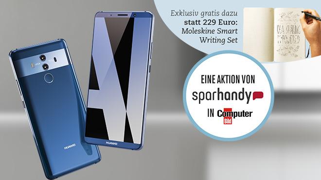 10-GB-LTE-Flat sichern ©Huawei, iStock.com/archideaphoto, Sparhandy, COMPUTER BILD