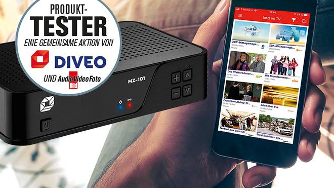 Premierentest: Jetzt bewerben und Diveo TV-Dienst testen!©Diveo