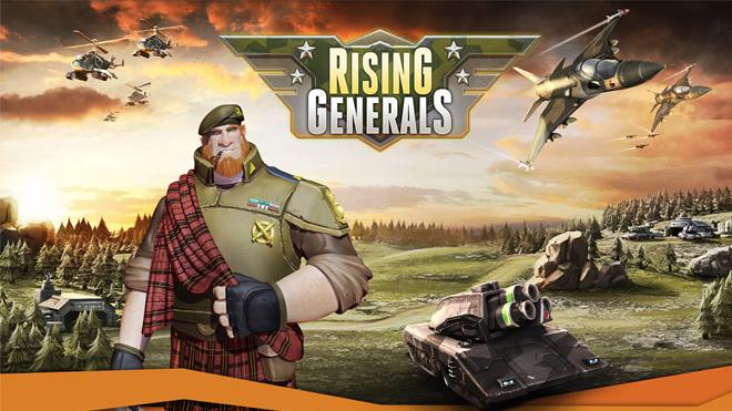 Rising Generals: Betakeys ©Innogames