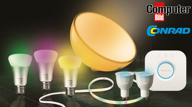 Philips Hue Set günstig sichern. © Philips