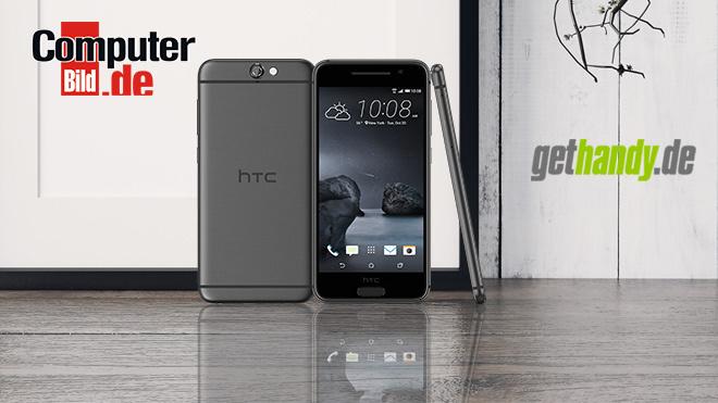 HTC One A9 mit Tarif ©HTC, elsar – Fotolia.com, Gethandy.de