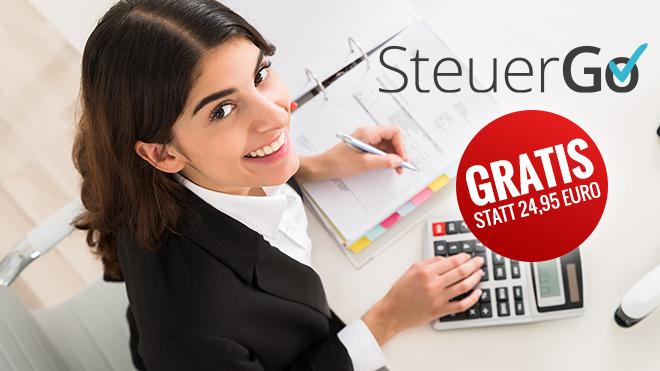 SteuerGo-Gutschein anfordern ©SteuerGo, Andrey Popov - Fotolia.com