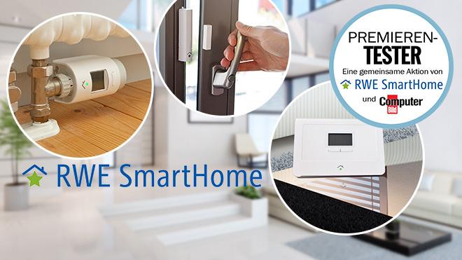 premierentest jetzt rwe smart home ger te checken computer bild. Black Bedroom Furniture Sets. Home Design Ideas