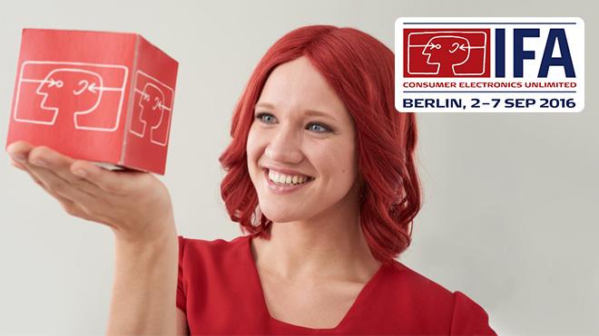 Gewinnen Sie eine Eintrittskarte für sich und eine Begleitperson zur IFA 2016! ©Messe Berlin