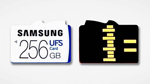 UFS-Speicherkarte von Samsung©Samsung