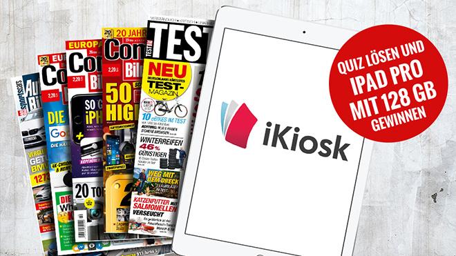 Quiz lösen und iPad Pro gewinnen ©Eugene Sergeev – Fotolia.com, iKiosk, COMPUTER BILD, TESTBILD, AUTO BILD