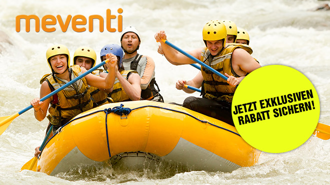 Meventi – Rabatt auf Rafting-Touren ©Meventi, Ammit – Fotolia.com