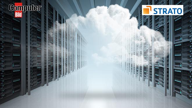 Cloud-Speicher Strato HiDrive ©Strato, ©istock.com/buchachon