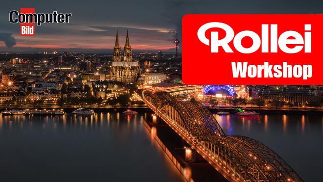 Rollei-Foto-Workshop 2017 in Köln ©Rollei, COMPUTER BILD