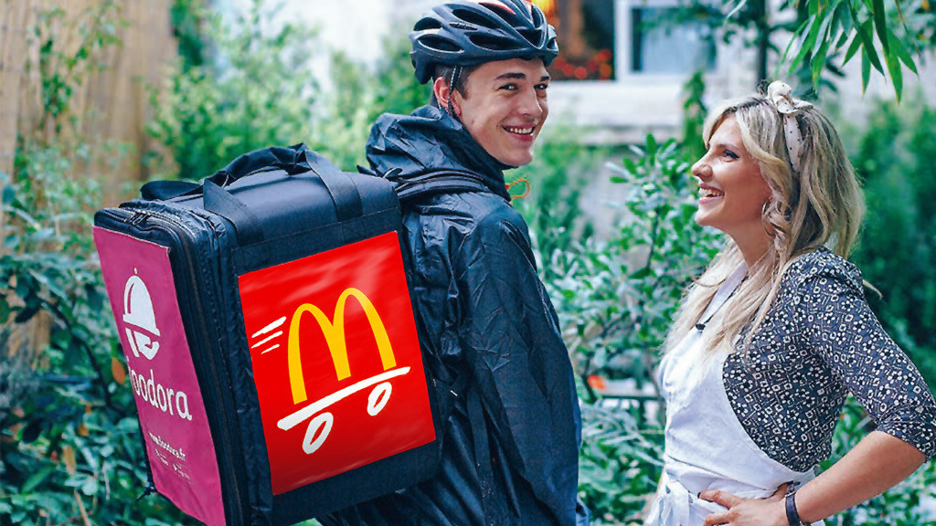 McDonald�s©McDonald�s, Foodora