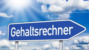 Gehaltsrechner ©© stockWERK - Fotolia.com