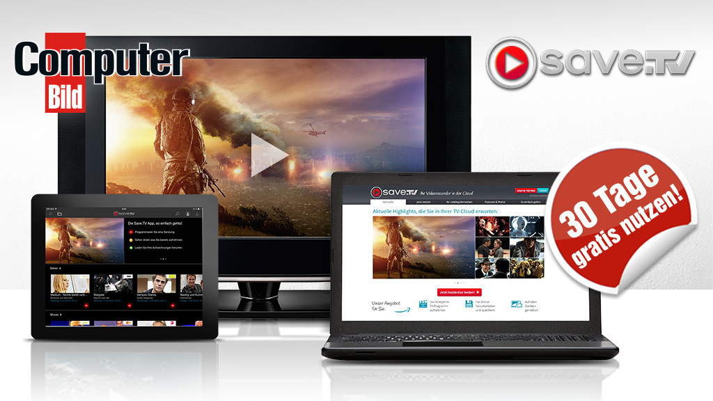 Save.TV 30 Tage kostenlos ©Save.tv