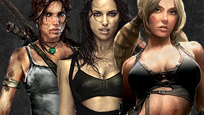 Cyber Babes © Ubisoft, EA, Konami