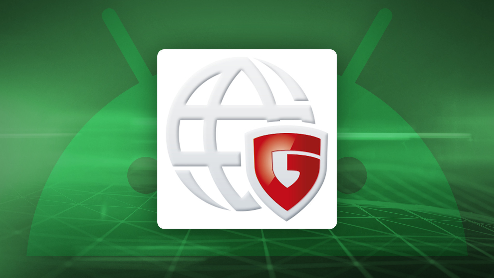 G Data Mobile Security © Android, iStock.com/blackdovfx, G Data