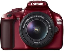 Canon EOS 1100D Kit 18-55 mm [Canon IS II] (rot)
