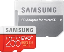 EVO Plus microSDXC 256GB UHS-I U3 (MB-MC256DA)