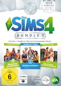 Die Sims 4: Bundle 3 - Gaumenfreuden + Heimkino- + Romantische Garten-Accessories (Add-On)