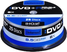 DVD+R DL 8,5GB 8x 25er Spindel
