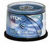 DVD-R 4,7GB 120min 16x 50er Spindel