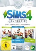 Die Sims 4: Bundle 1 - Wellness-Tag - Sonnenterrassen + Luxus-Party (Add-On)