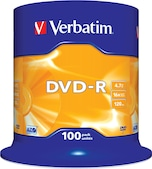 DVD-R 4,7GB 16x Matt 100er Spindel