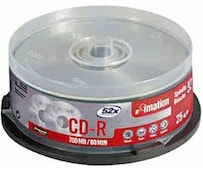 CD-R 700MB 80min 52x 25er Spindel