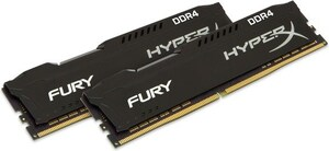 HyperX FURY 32GB Kit DDR4-2666 CL16 (HX426C16FBK2/32)