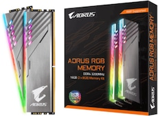 Aorus RGB 16GB Kit DDR4-3200 CL16 (GP-AR32C16S8K2HU416R)