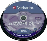 DVD+R DL 8,5GB 8x Matt 10er Spindel