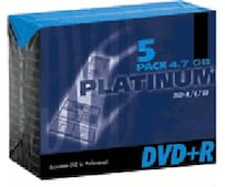 DVD+R 4,7GB 120min 16x 5er Jewelcase
