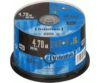 DVD+R 4,7GB 120min 16x 50er Spindel