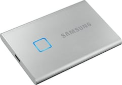Portable SSD T7 Touch 1TB silber