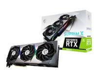 GeForce RTX 3080 Ti SUPRIM  X 12GB GDDR6X