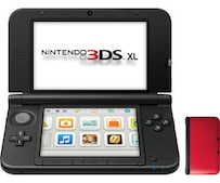 3DS XL rot-schwarz