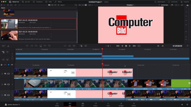Screenshot 1 - DaVinci Resolve (Mac)