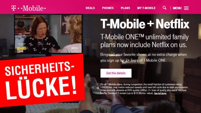 T-Mobile gehackt©T-Mobile
