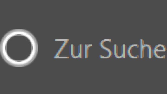 Windows 10: Bildschirmlupe mit viel weniger Qualitätsverlust Windows 10 1709 (neu): Der weiße Kreis ist feiner gezeichnet. Und insbesondere beim Z bleiben Pixel-Treppchen aus.©COMPUTER BILD