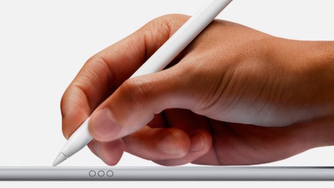 Apple Pencil mit iPad Pro©Apple